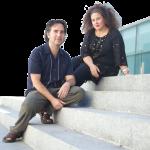 Hugo Fernández y Celia Mur