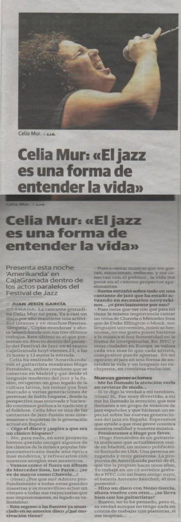 Ideal de Granada, el 22/11/2012