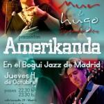 Amerikanda en el Bogui Jazz