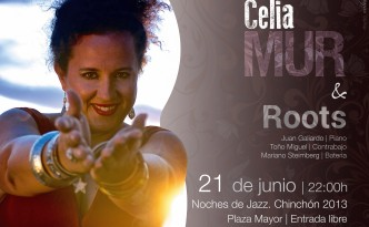 Cartel Noches de Jazz. Chinchón 2013