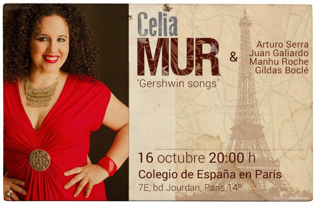 Celia Mur en Paris