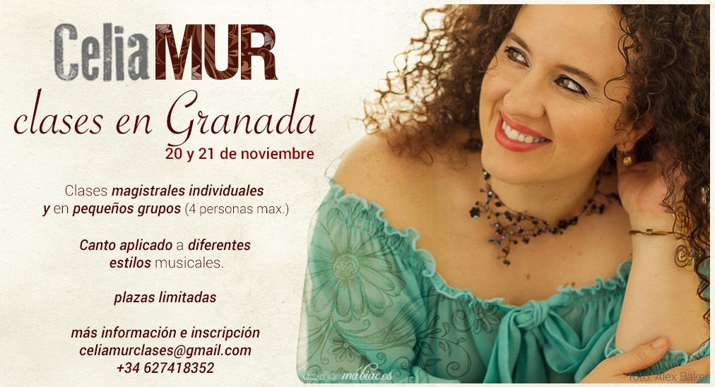 Clases en Granada 2015