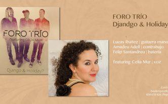 flyer foro trio & Celia Mur