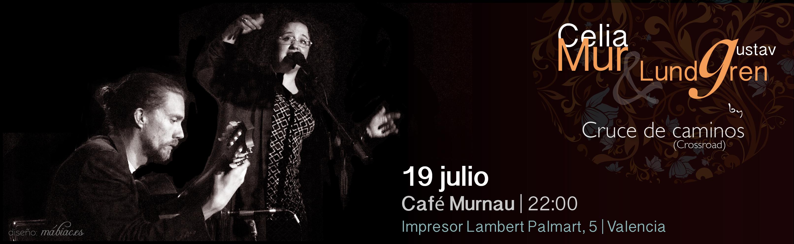 Cruce de caminos. Café Murnau