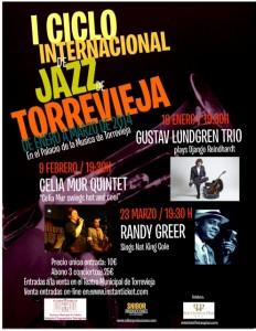 Cartel Ciclo Jazz Torrevieja 2014
