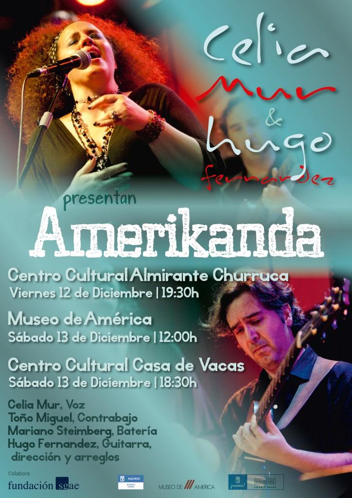Amerikanda |madriddiciembre 2014